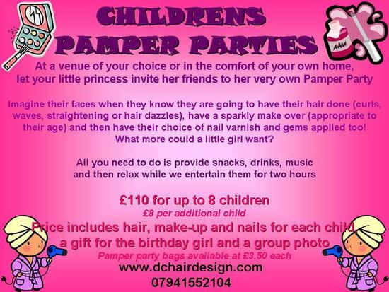 Deb Collighan Hair Design Pamper Parties